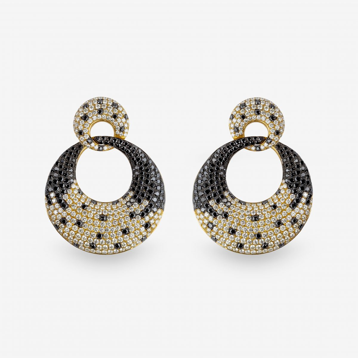 Pendientes oro amarillo y brillantes 8,62 quilates.