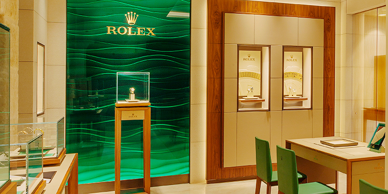 Boutique Rolex en Joyería Torrico en Salamanca